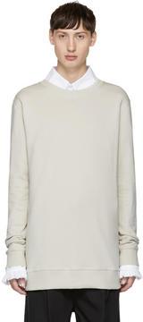 Damir Doma Grey Charles Madd Edition Walek Sweatshirt