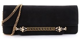 Gucci Pre-owned: Tigrette Evening Bag Nubuck. - BLACK - STYLE