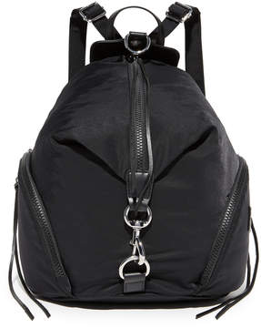 Rebecca Minkoff Nylon Julian Backpack - BLACK - STYLE