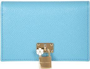 Dolce & Gabbana Small Padlock Card Holder - MULTI - STYLE