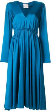 Forte Forte gathered midi dress