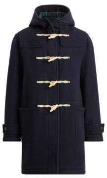 Ralph Lauren Wool Duffel Coat Navy/Blackwatch 38