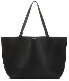 The Row Leather shopper