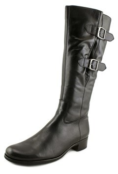 Gabor 31.503 Round Toe Leather Mid Calf Boot.