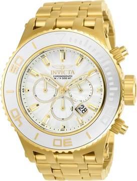 Invicta Subaqua Silver Gold Chronograph Men's Watch