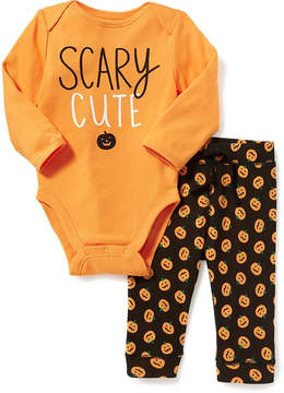 Old Navy 2-Piece Halloween-Graphic Bodysuit and Leggings Set for Baby