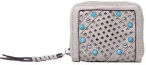 Chinese Laundry Ayo Perforated and Studded Small Wallet