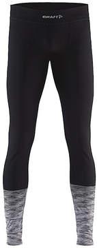 Craft Black & Dark Gray Wool-Blend Leggings - Men