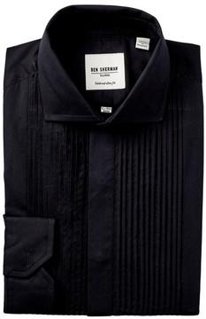Ben Sherman Poplin Tailored Slim Fit Dinner Dress Shirt