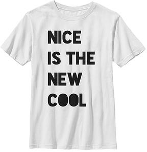 Fifth Sun White 'Nice Is the New Cool' Crewneck Tee - Youth