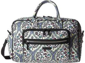 Vera Bradley Iconic Compact Weekender Travel Bag Weekender/Overnight Luggage - HERITAGE LEAF - STYLE