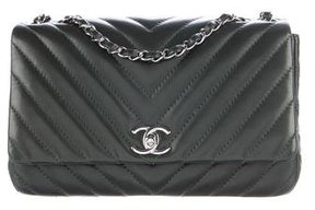 Chanel Chevron Classic Medium Classic Single Flap Bag