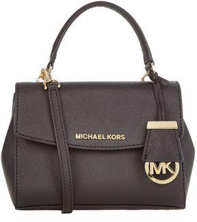 Michael Kors Ava Cross Body Bag - BLACK - STYLE