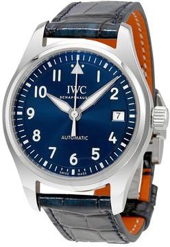 IWC Pilots Blue Dial Automatic Midsize Watch