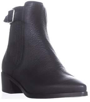 Belstaff Albaz Motorcycle Ankle Boots, Black.