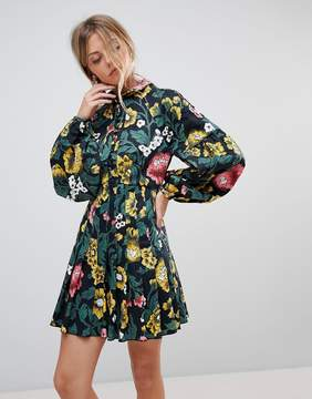 C/Meo Collective Collective Another Lover Balloon Sleeve Dress