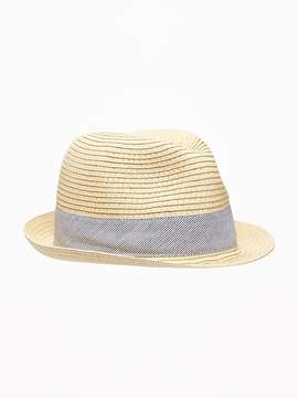 Old Navy Straw Fedora for Baby