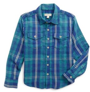 Tucker + Tate Toddler Boy's Plaid Double Cloth Shirt