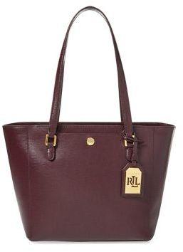 Lauren Ralph Lauren Leather Shopper Bag