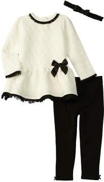 Nanette Lepore Girls' Quilted Dress Set