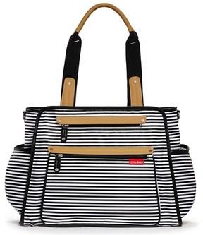 Skip Hop Black Stripe Grand Central Bag