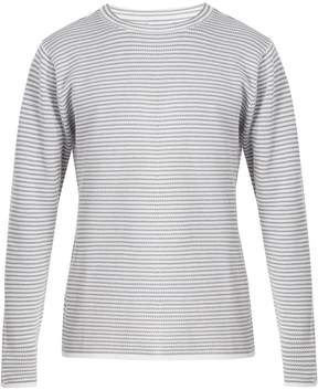 Saturdays NYC Alek striped cotton long-sleeved T-shirt