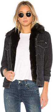 Mother The Furry Faux Fur Drifter Jacket.