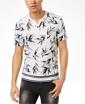 INC International Concepts I.n.c. Men's Shadow Leaf T-Shirt, Created for Macy's