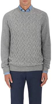 Loro Piana Men's Cable-Knit Cashmere Sweater