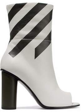 Anya Hindmarch Striped Leather Boots