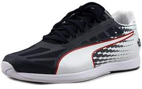 Puma Bmw Ms Evospeed Youth Round Toe Synthetic White Sneakers.
