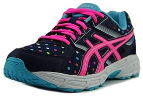 Asics Gel-contend 3 Gs Youth Round Toe Synthetic Blue Running Shoe.