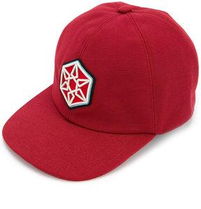 Lanvin patch detail baseball cap