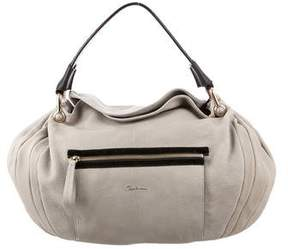 Giorgio Armani Bicolor Gathered Hobo