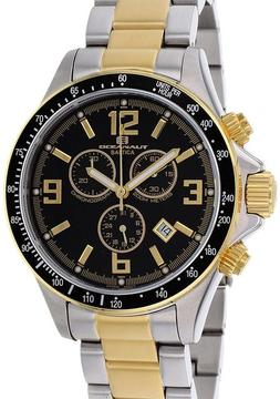 Oceanaut OC3325 Men's Baltica Silver & Gold Stainless Steel Chronograph Watch
