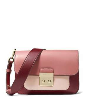 MICHAEL Michael Kors Sloan Editor Large Colorblock Leather Shoulder Bag