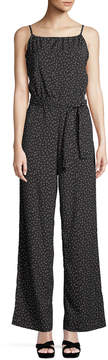 Bishop + Young Belted Wide-Leg Jumpsuit