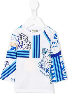 Kenzo striped longsleeved T-shirt