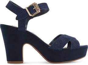 Dune Iyla suede heeled sandals