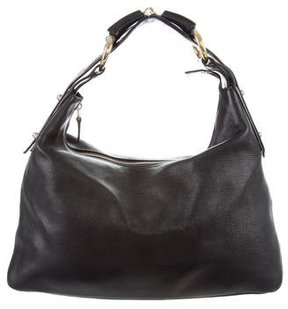 Gucci Medium Horsebit Hobo - BLACK - STYLE