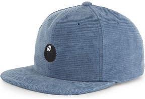 Stussy 8 Ball corduroy strapback cap