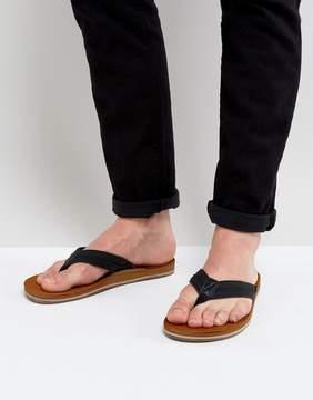Call it SPRING Agrianiel Flip Flops In Black
