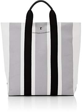 Calvin Klein Men's Striped Tote Bag