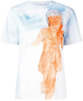 Christopher Kane body print T-shirt