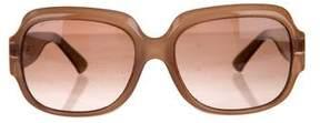 Fendi Square Embellished Sunglasses