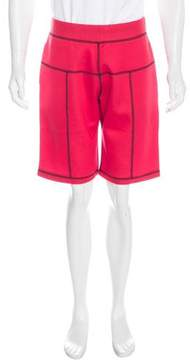 Christopher Kane 2016 Scuba Coverstitch Grid Shorts w/ Tags