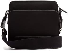 Dolce & Gabbana Canvas and leather cross-body bag