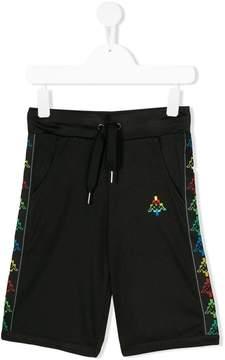 Marcelo Burlon County of Milan Kids embroidered logo shorts