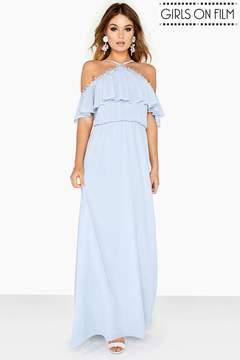 Bardo Frill Maxi Dress