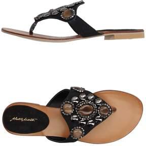 Alberto Moretti Toe strap sandals